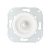 white / satin nickel-plated, 10A-250 V,